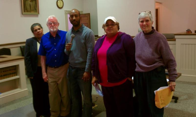 Memebers of the Granville County Democratic Party Executive Board